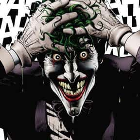 Joker is listed (or ranked) 1 on the list The Greatest Villains In DC Comics, Ranked