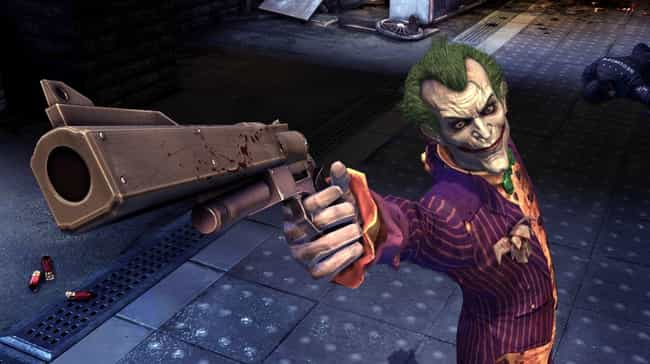 Joker is listed (or ranked) 1 on the list The 11 Wildest Psychos In Video Games