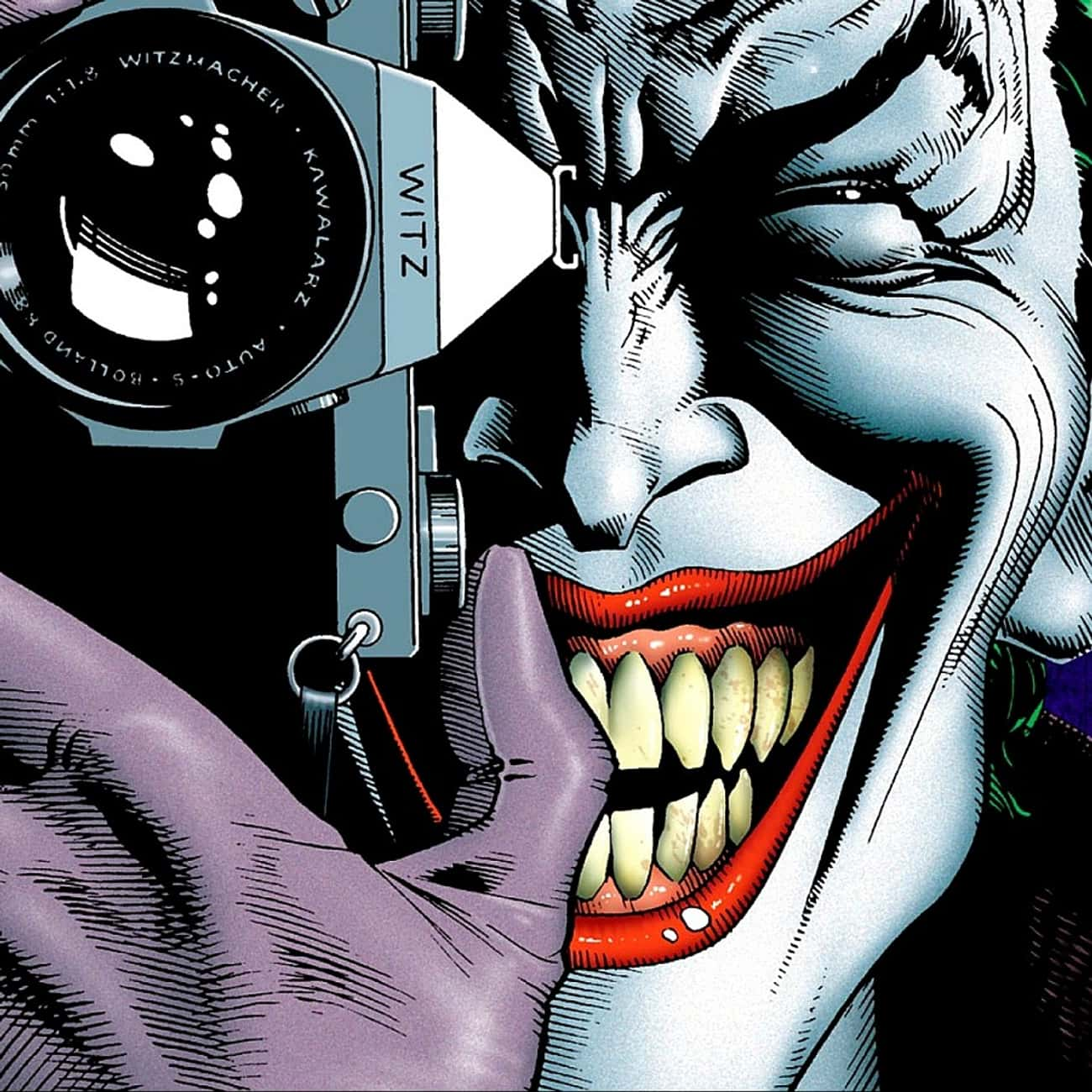 Joker is listed (or ranked) 3 on the list Comic Book Characters Who Deserve Their Own Video Games