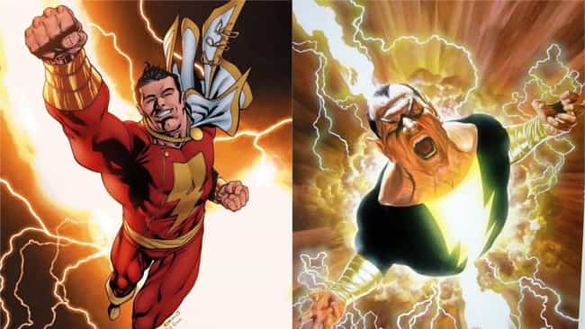 Shazam is listed (or ranked) 2 on the list The Best Superheroes With Evil Doppelgangers