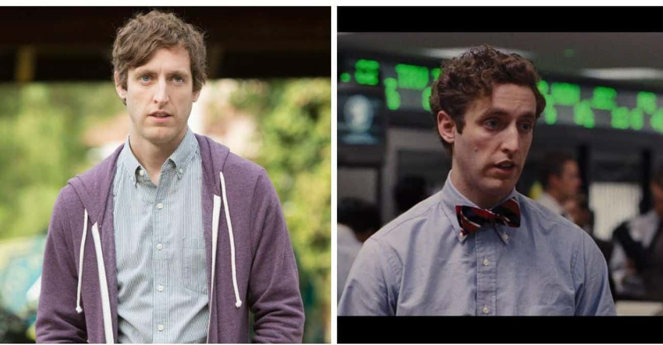 Thomas Middleditch is listed (or ranked) 1 on the list 15 Times You've Seen the Silicon Valley Actors Before