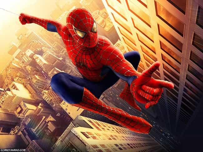 Spiderman is listed (or ranked) 2 on the list The Greatest Masked Characters