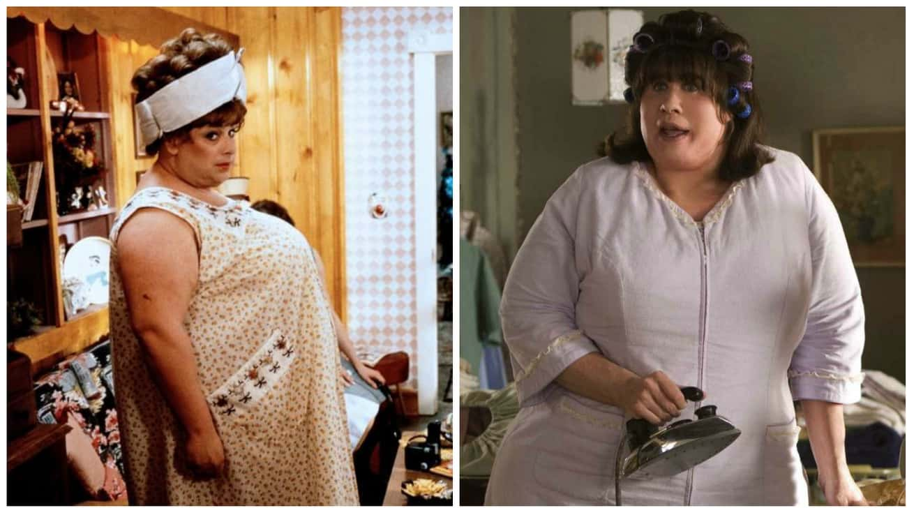 Edna Turnblad is listed (or ranked) 4 on the list Different Actors Who Played The Same Character In The Original And The Remake