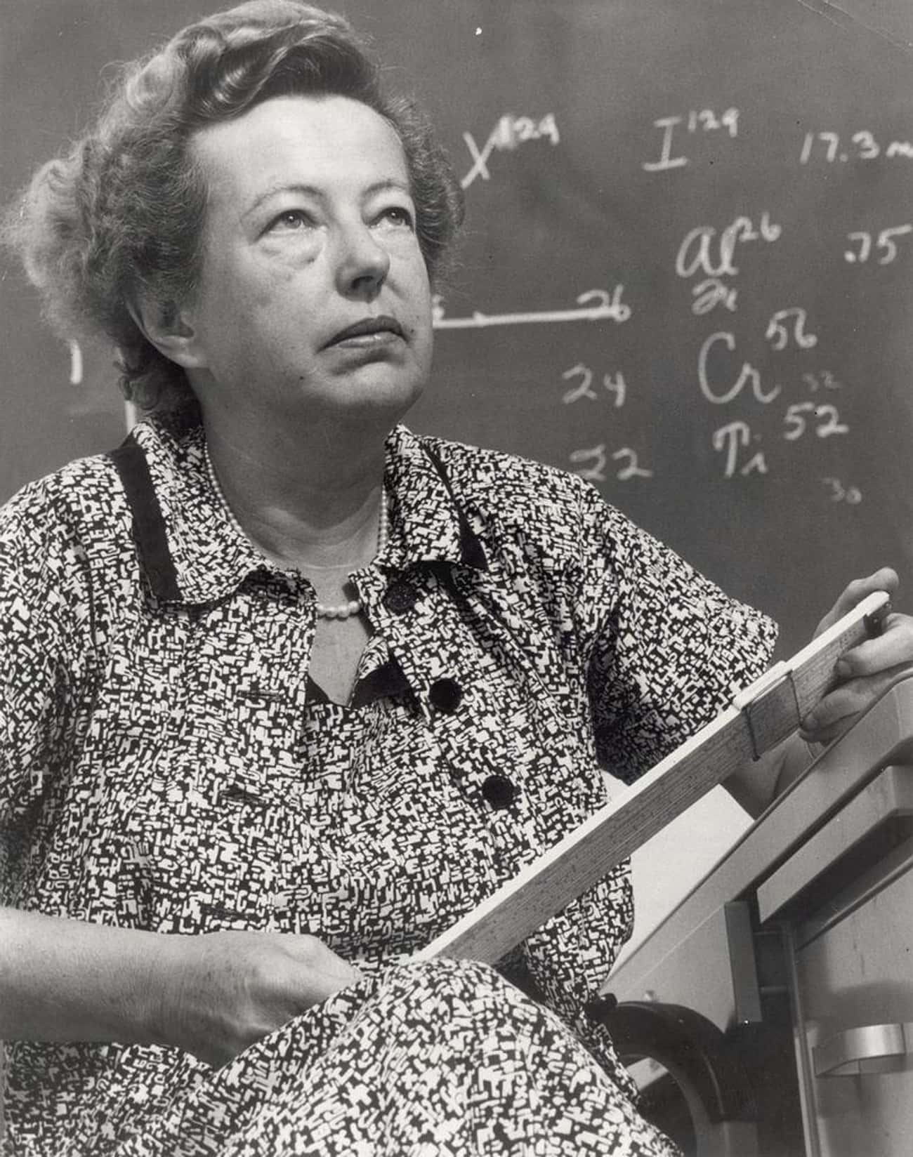 Maria Goeppert-Mayer is listed (or ranked) 4 on the list The Greatest Renaissance Women in American History