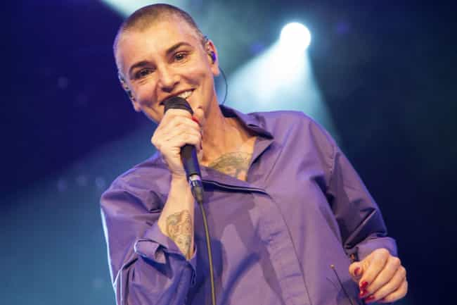 Sinéad O'Connor is listed (or ranked) 4 on the list The Most Career-Ruining Performances Of All Time
