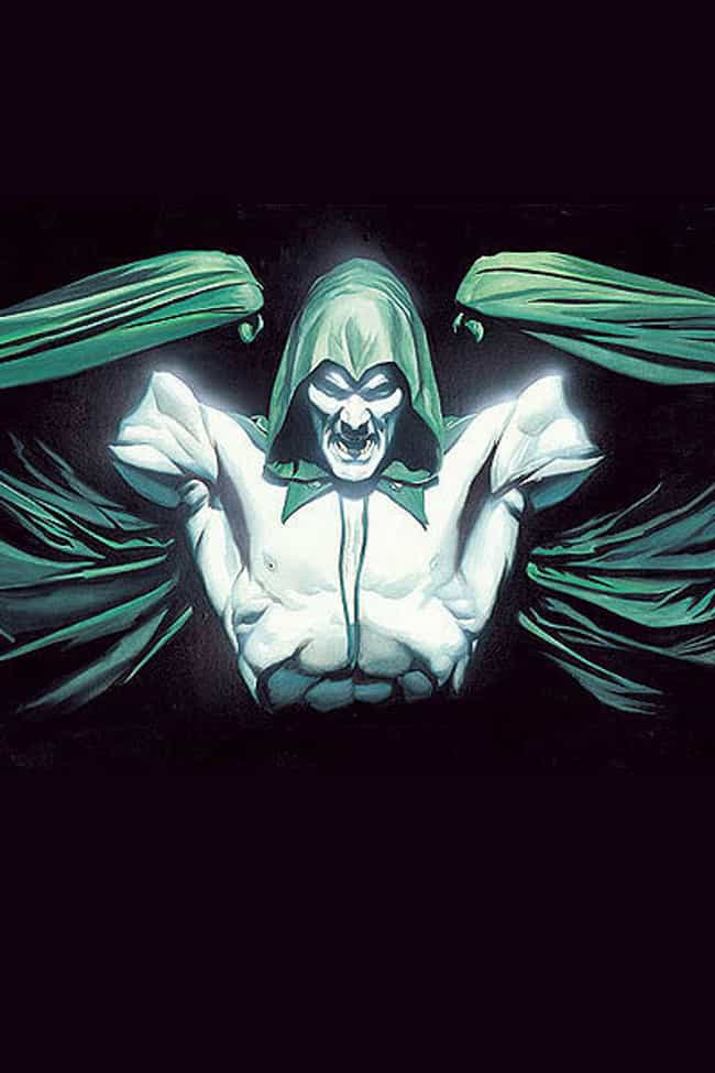 Spectre is listed (or ranked) 3 on the list The Most Powerful Characters In DC Comics
