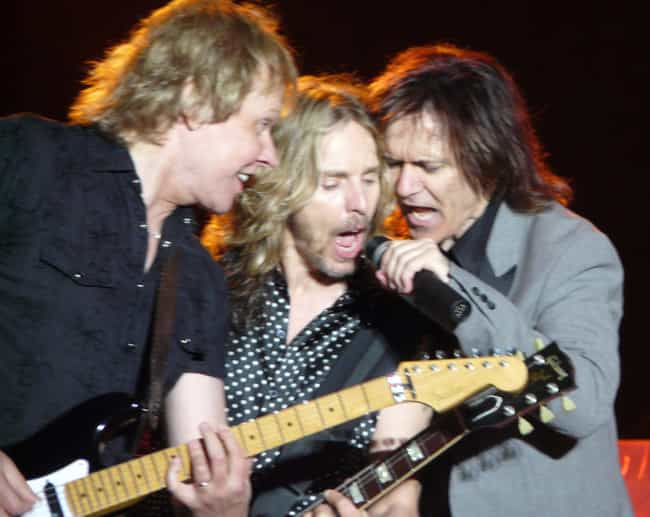 Styx is listed (or ranked) 4 on the list Once Iconic Musicians Who Ended Up Slummin' It At The County Fair