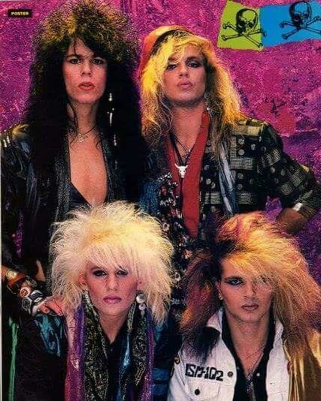 Poison is listed (or ranked) 1 on the list The Funniest '80s Glam Band Photos Ever