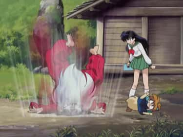 Inuyasha Is Easily Controlled By A Key Phrase In 'Inuyasha'