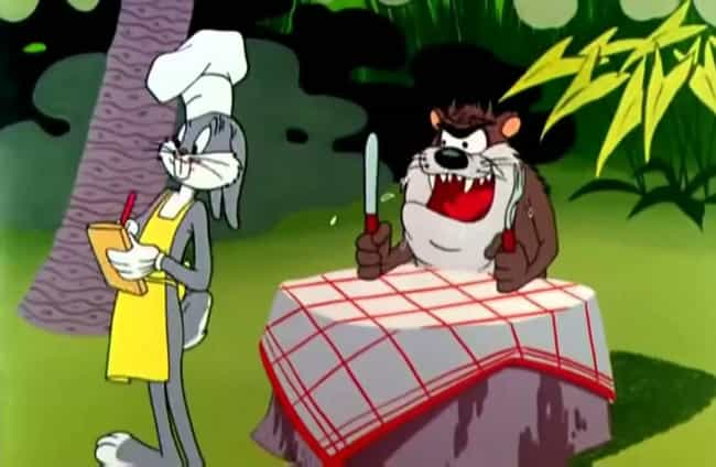 Taz is listed (or ranked) 1 on the list The Strongest Characters In 'Looney Tunes'