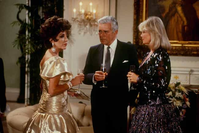 Dynasty is listed (or ranked) 3 on the list The Most Popular TV Shows Of The 1980s