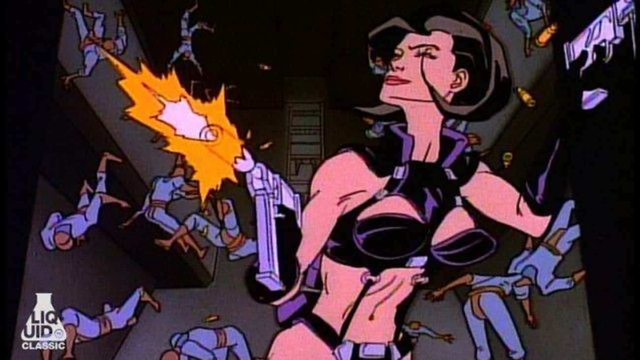 'Æon Flux' Made Its Debut As A is listed (or ranked) 1 on the list The Cartoon Insanity Of MTV's 'Liquid Television' Warped A Generation