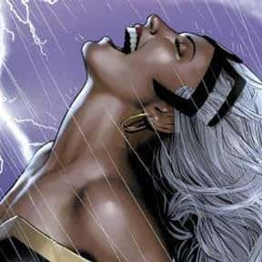 Storm is listed (or ranked) 5 on the list The Greatest Black Characters in Film History
