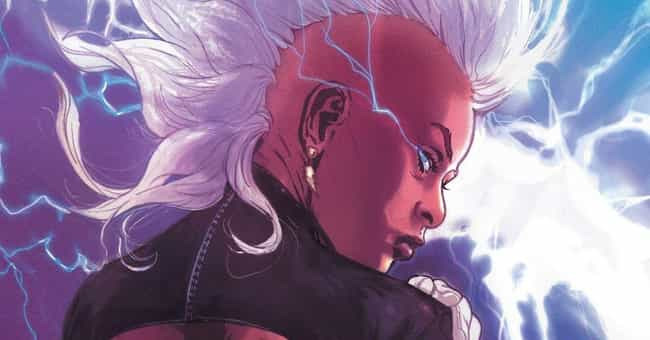 Storm is listed (or ranked) 1 on the list X-Men Characters Who Should be Rebooted On The Silver Screen