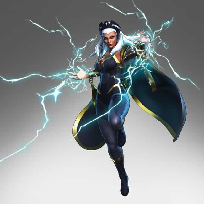 Storm is listed (or ranked) 4 on the list All 'Marvel Ultimate Alliance 3' Characters, Ranked