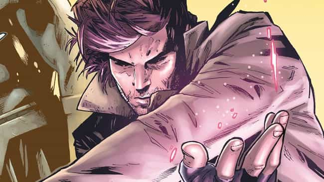 Gambit is listed (or ranked) 4 on the list Superheroes Who Started Out as Villains
