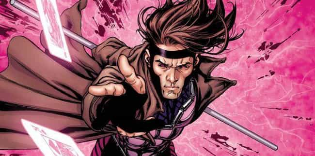 Gambit is listed (or ranked) 3 on the list X-Men Characters Who Should be Rebooted On The Silver Screen