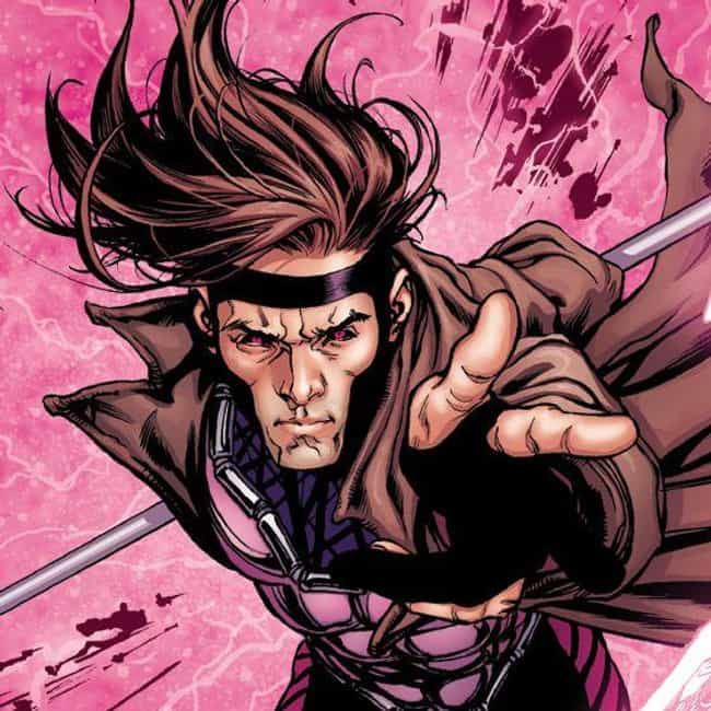 Gambit is listed (or ranked) 4 on the list The 15 Best Superheroes With The Power to Absorb Energy
