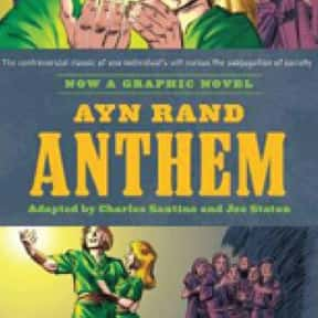 Anthem is listed (or ranked) 3 on the list The Best Ayn Rand Books