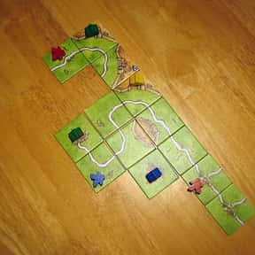 Carcassonne is listed (or ranked) 4 on the list The Best Board Games of All Time