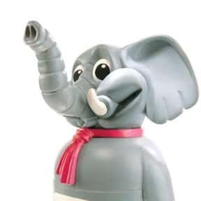 Barry the Elephant is listed (or ranked) 2 on the list Fictional Characters Named Barry