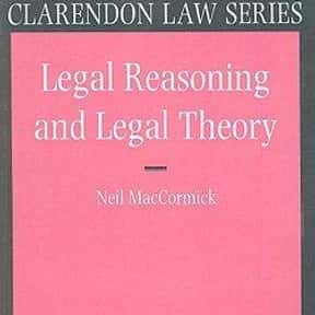 Legal Reasoning and Legal Theo is listed (or ranked) 8 on the list The Best Books About Jurisprudence
