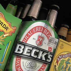 Beck's is listed (or ranked) 8 on the list The Best Beer Brands