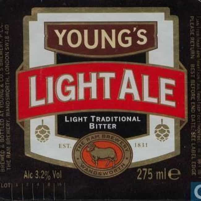 Young's Light Ale is listed (or ranked) 3 on the list Beers with 3.2 Percent Alcohol Content