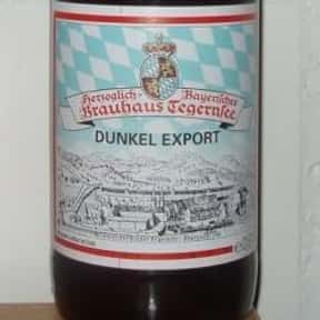 Tegernseer Dunkel Export is listed (or ranked) 24 on the list Beers with 5.9 Percent Alcohol Content