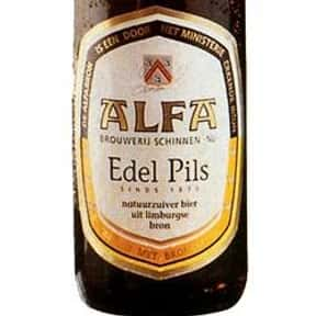 Alfa Edel Pils is listed (or ranked) 7 on the list Beers with 5.0 Percent Alcohol Content