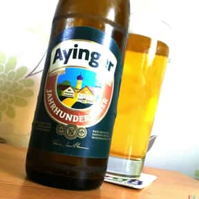 Ayinger Jahrundert is listed (or ranked) 23 on the list The Top Beers from Germany