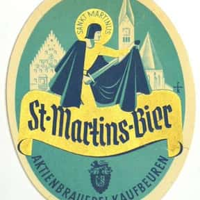 Aktien Brauerei St. Martin Dun is listed (or ranked) 4 on the list Beers with 8.0 Percent Alcohol Content