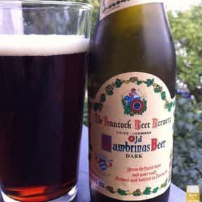 Hancock Brewery Old Gambrinus  is listed (or ranked) 5 on the list The Top Beers from Denmark