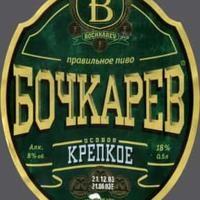 Bochkarev Krepkoe is listed (or ranked) 9 on the list Beers with 8.0 Percent Alcohol Content