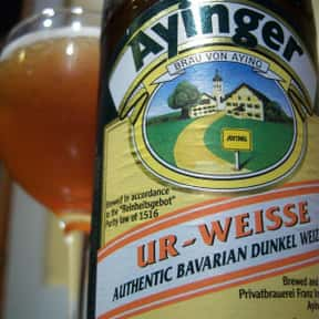 Ayinger Ur-Weisse is listed (or ranked) 24 on the list The Top Beers from Germany