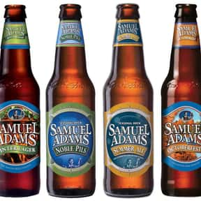 Samuel Adams is listed (or ranked) 4 on the list The Best Beer Brands