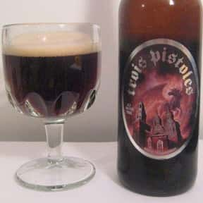 Unibroue Trois Pistoles is listed (or ranked) 12 on the list The Best Canadian Beers