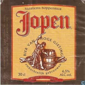 Jopen Haarlems Hoppenbier is listed (or ranked) 22 on the list The Best Dutch Beers