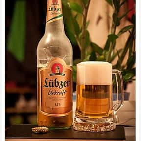Brauerei Lübz Lübzer Urkraft is listed (or ranked) 18 on the list Beers with 6.0 Percent Alcohol Content