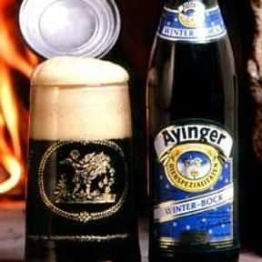 Ayinger Winter Bock is listed (or ranked) 25 on the list The Top Beers from Germany