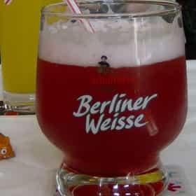 Berliner Kindl Original Weisse mit Schuss: Himbeere