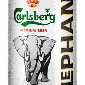 Carlsberg Elephant Beer is listed (or ranked) 3 on the list The Top Beers from Denmark