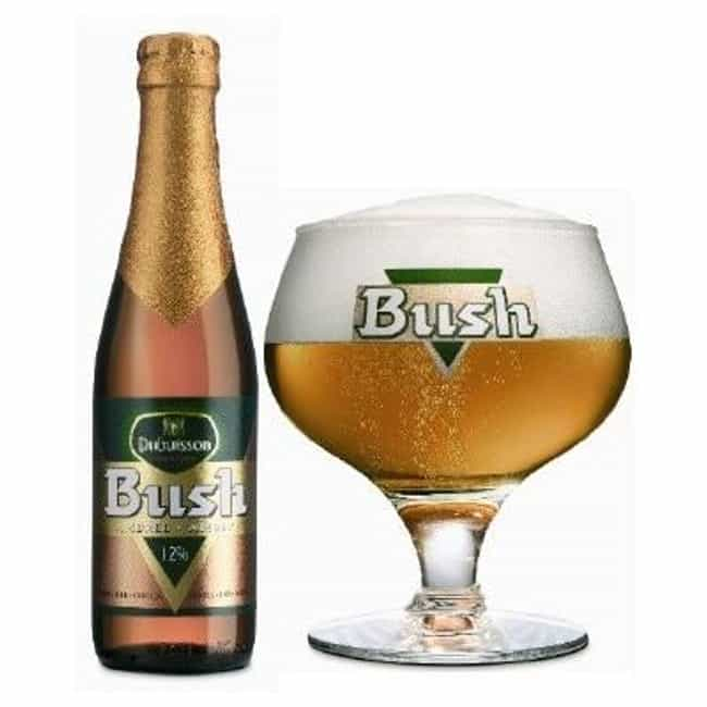 Dubuisson Bush is listed (or ranked) 3 on the list Beers with 12.0 Percent Alcohol Content