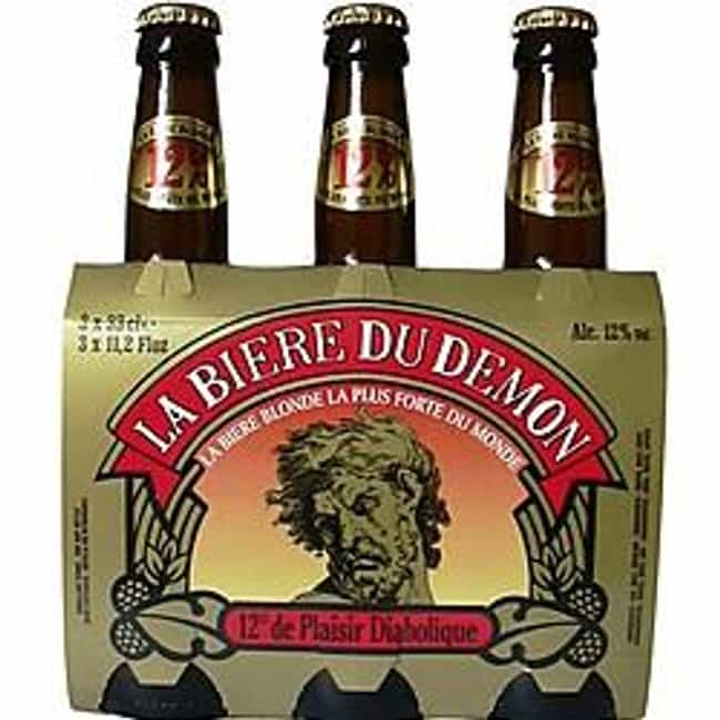 De Gayant Bière du démon is listed (or ranked) 2 on the list Beers with 12.0 Percent Alcohol Content