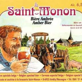 Brasserie Saint-Monon La Saint is listed (or ranked) 17 on the list Beers with 8.0 Percent Alcohol Content