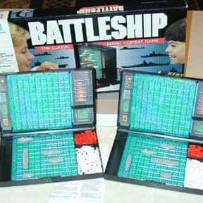 Battleship is listed (or ranked) 12 on the list The Best Board Games for Parties