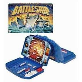 Battleship is listed (or ranked) 11 on the list The Best Family Board Games