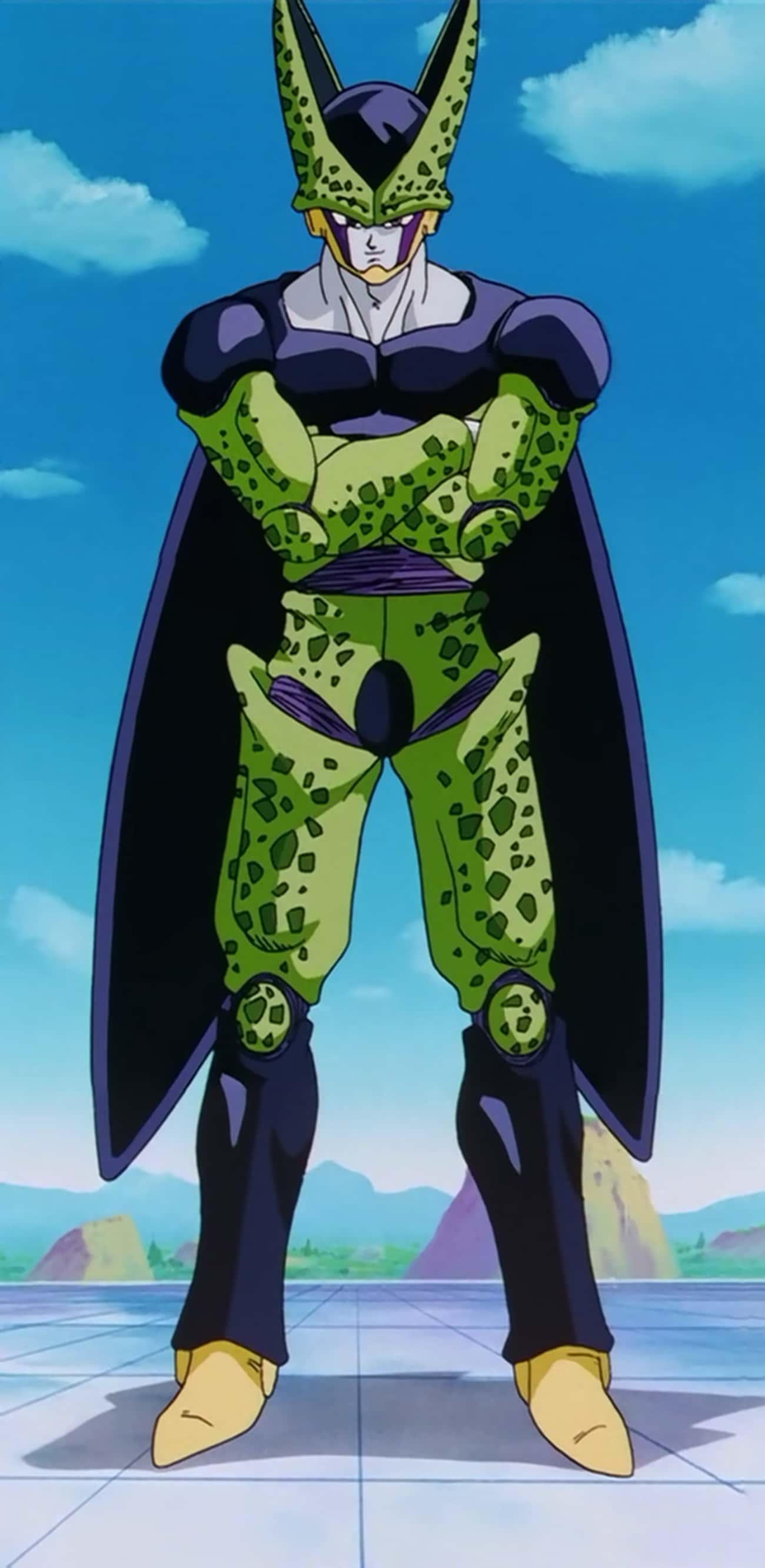 Cell is listed (or ranked) 2 on the list Ranking The Greatest DBZ Villains of All Time