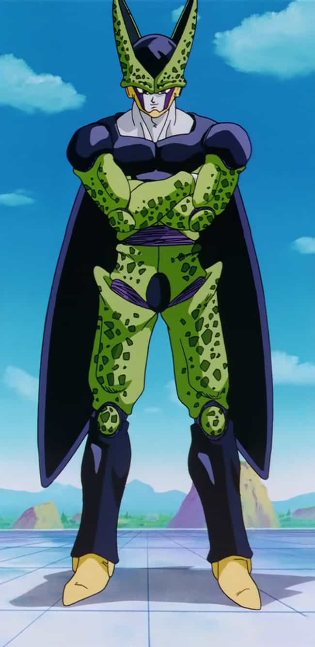 Cell is listed (or ranked) 3 on the list Ranking The Greatest DBZ Villains of All Time