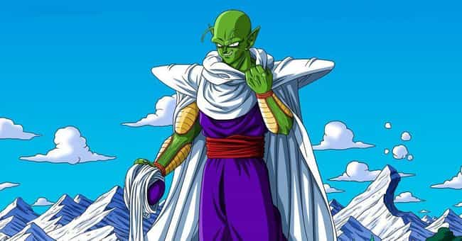 Piccolo is listed (or ranked) 3 on the list Fictional Characters Who Are Way Younger Than You Think